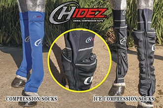 Hidez Ice/Compression Socks (Front)