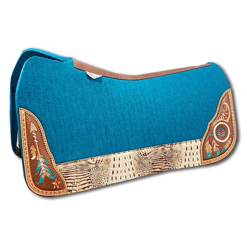 5 Star Saddle Pad Dream Warrior Turquoise