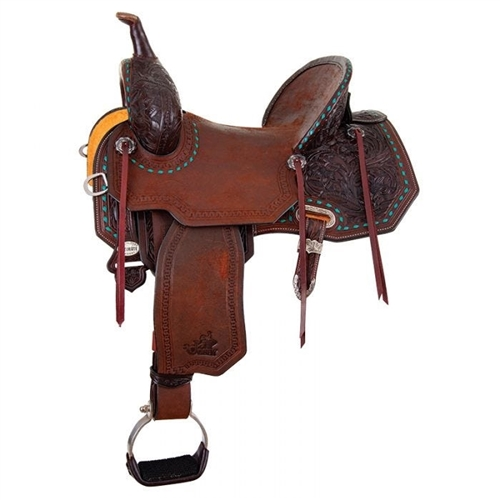 "14"" Martha Josey ""CASH RANCHER"" Saddle by Circle Y"