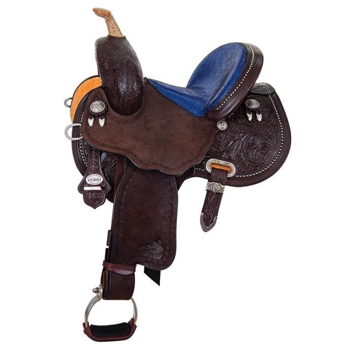 "12""- 13"" JOSEY-MITCHELL Youth ""Avenger"" Saddle by Circle Y"