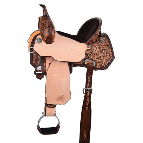 "13.5""- 17"" MARTHA JOSEY ""Cash Rancher"" Saddle by Circle Y"