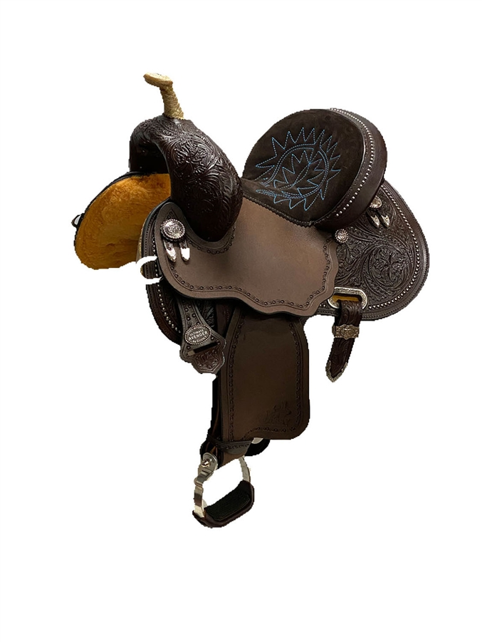 "12""- 13"" JOSEY-MTCHELL Youth ""Avenger"" Saddle by Circle Y"
